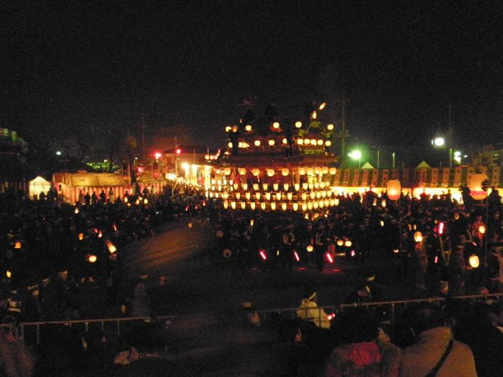大迫力の例祭『秩父夜祭』秩父神社