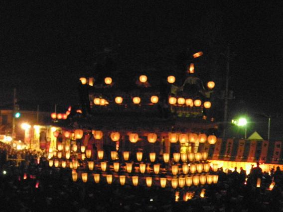 ⑥大迫力の例祭『秩父夜祭』秩父神社