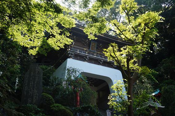 ①初めての御朱印は湘南の海に浮かぶ江島神社