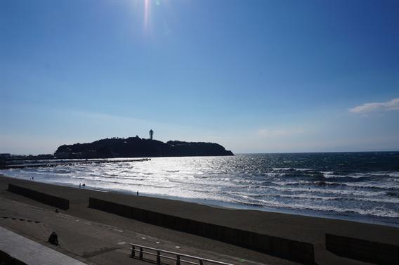 ①江ノ島の海を表現した御朱印帳に一目惚れ!江島神社(神奈川県藤沢市)