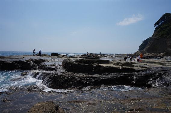 ②江ノ島の海を表現した御朱印帳に一目惚れ!江島神社(神奈川県藤沢市)