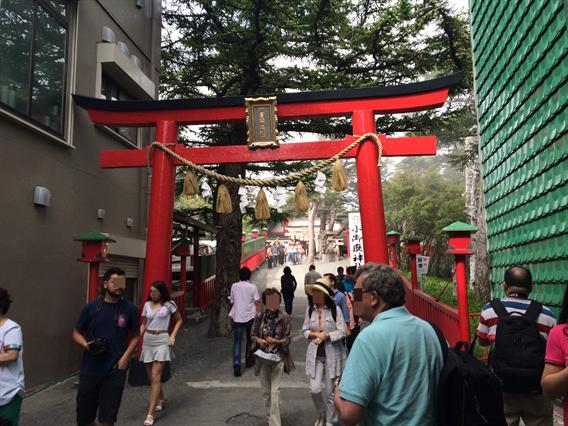 ⑤富士山五合目で御朱印が頂ける!【小御嶽神社】