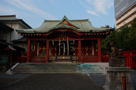 ⑨狐の道しるべ、穴守稲荷神社(東京都大田区羽田)
