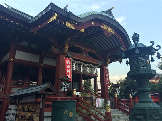 ⑨航空守りに!飛行機の御朱印がいただける羽田神社