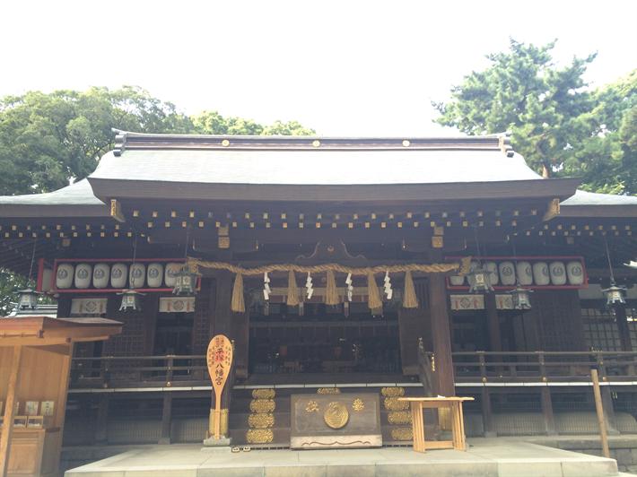 湘南アヒルの楽園?!平塚八幡宮(神奈川県平塚市)