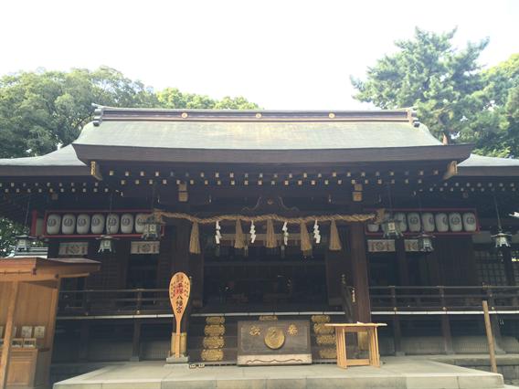 ⑧湘南アヒルの楽園?!平塚八幡宮(神奈川県平塚市)