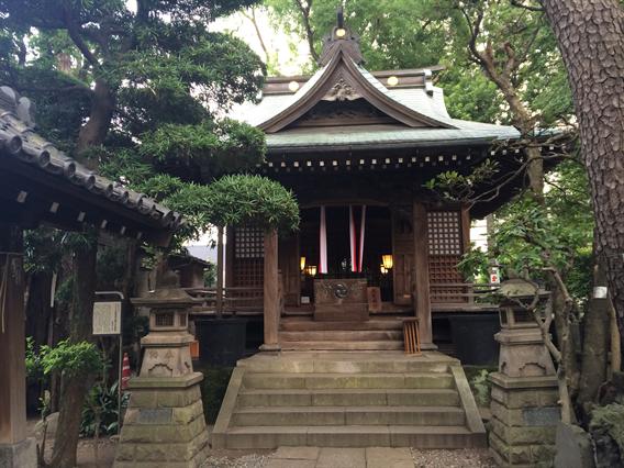 ⑥都心の小さな神社、廣尾稲荷神社(東京都港区南麻布)