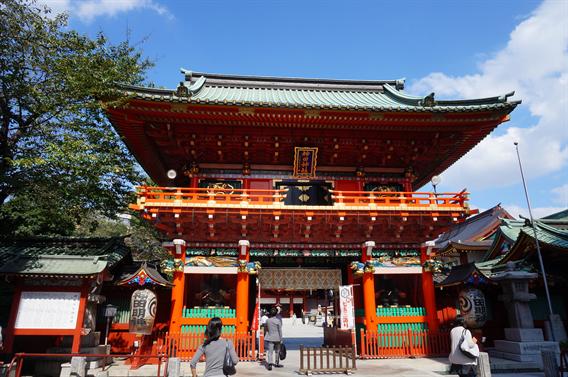 ⑭電気と萌えの街、秋葉原を見守る神田神社(東京都千代田区外神田)