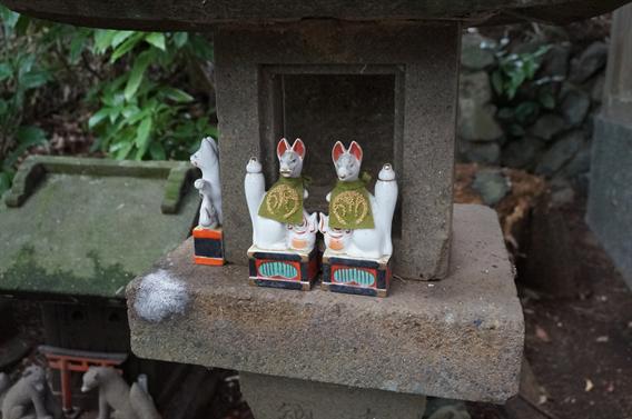 ⑤キツネさんの萌えキャラ絵馬?!白笹稲荷神社(神奈川県秦野市)