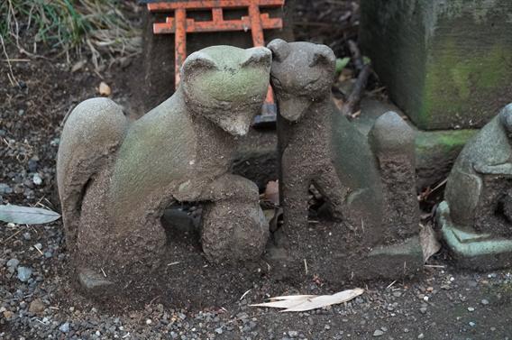 ⑥キツネさんの萌えキャラ絵馬?!白笹稲荷神社(神奈川県秦野市)