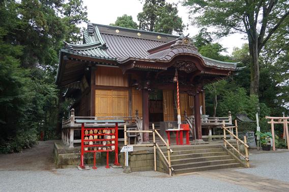 ⑧キツネさんの萌えキャラ絵馬?!白笹稲荷神社(神奈川県秦野市)