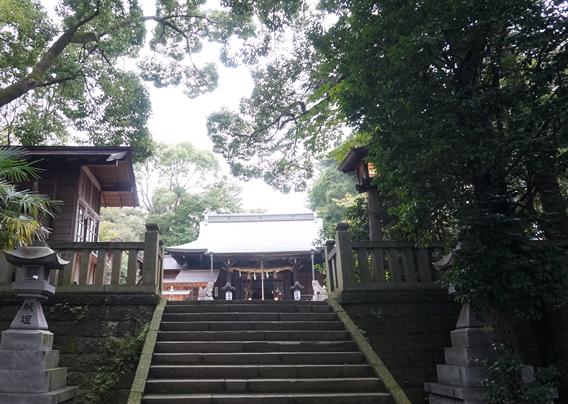 ⑧名水の地の守り神 曾屋神社(神奈川県秦野市)