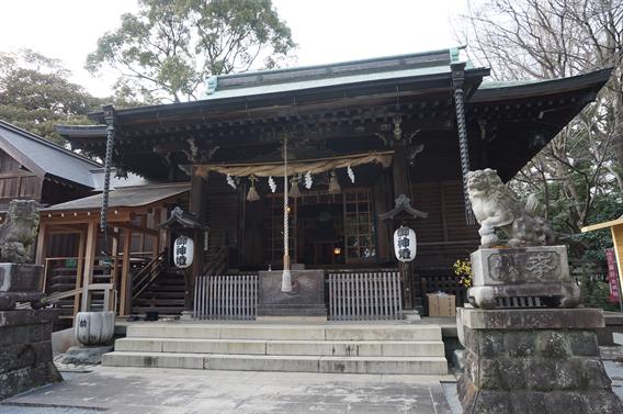 ⑪名水の地の守り神 曾屋神社(神奈川県秦野市)