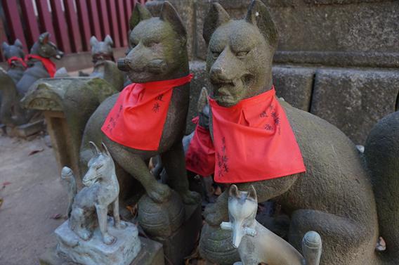 ⑧日本三大稲荷の一つ、笠間稲荷神社で頂ける2種類の御朱印(茨城県笠間市)