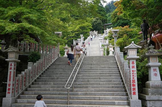 ⑧ケーブルカーで大山詣り、大山阿夫利神社(神奈川県伊勢原市)