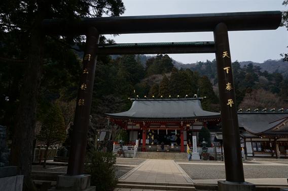 ⑨ケーブルカーで大山詣り、大山阿夫利神社(神奈川県伊勢原市)