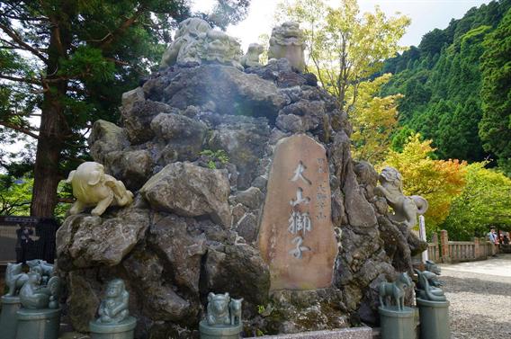 ⑮ケーブルカーで大山詣り、大山阿夫利神社(神奈川県伊勢原市)