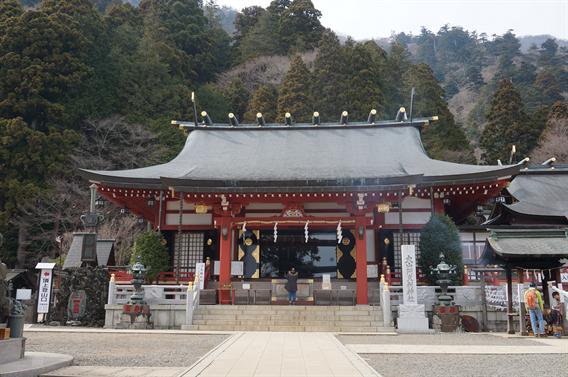 ⑱ケーブルカーで大山詣り、大山阿夫利神社(神奈川県伊勢原市)