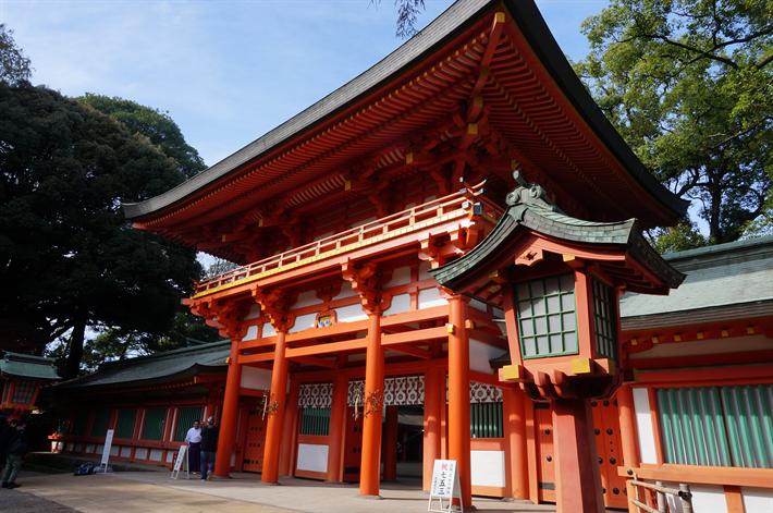 武蔵国の一宮、大宮氷川神社(埼玉県さいたま市大宮区)